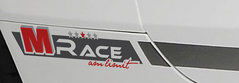 Logo decor MS Design Audi TT Race