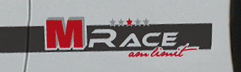 Logo decor M Race Volkswagen Scirocco Race